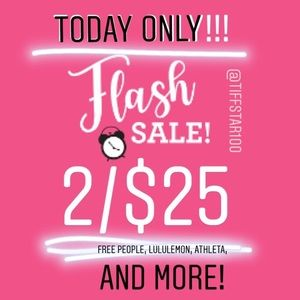 ❌💥FLASH SALE 2/$25 TODAY ONLY! ❌💥